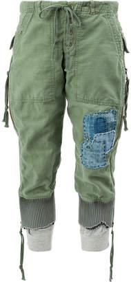 Greg Lauren Army Baker Zipper Lounge pant