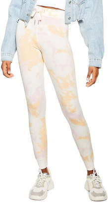 Topshop Slim Fit Tie Dye Jogger Pants