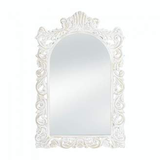 Accent Plus GRAND DISTRESSED WHITE WALL MIRROR