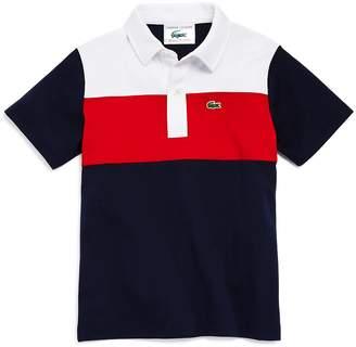Lacoste Boys' Color-Block Polo