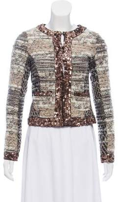 Gryphon Patterned Embellished Jacket