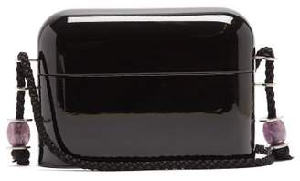 The Row Evening Case Clutch - Womens - Black