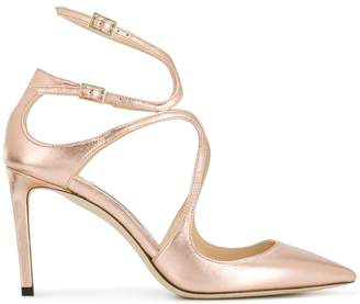 Jimmy Choo Lancer metallic pumps