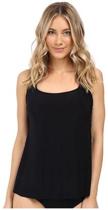 Magicsuit - Solids Reese Top Women's Swimwear $118 thestylecure.com