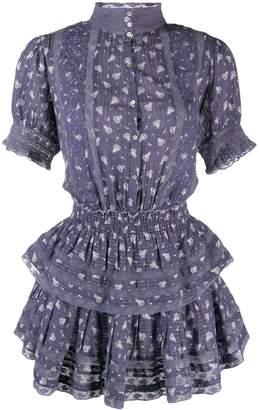 LoveShackFancy Love Shack Fancy ruffled Alfie mini dress