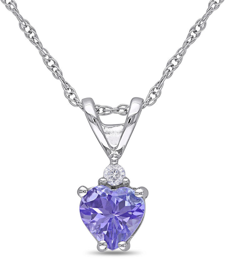 Jcpenney Diamond Heart Necklace