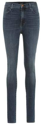 J Brand Carolina high-waisted skinny jeans
