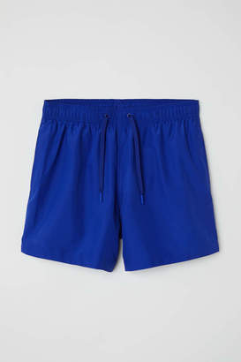 H&M Swim shorts - Cobalt blue - Men