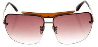 Matthew Williamson Rimless Tinted Sunglasses