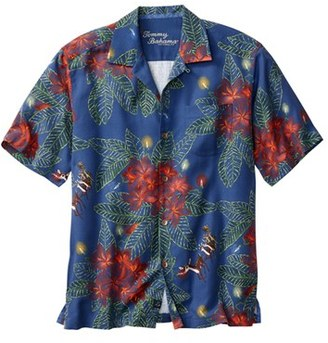 Tommy Bahama 'Harbour Lights' Print Silk Camp Shirt (Big & Tall) $138 thestylecure.com