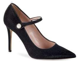 Sarah Jessica Parker Wellington Metallic Mary Jane Pumps/4""