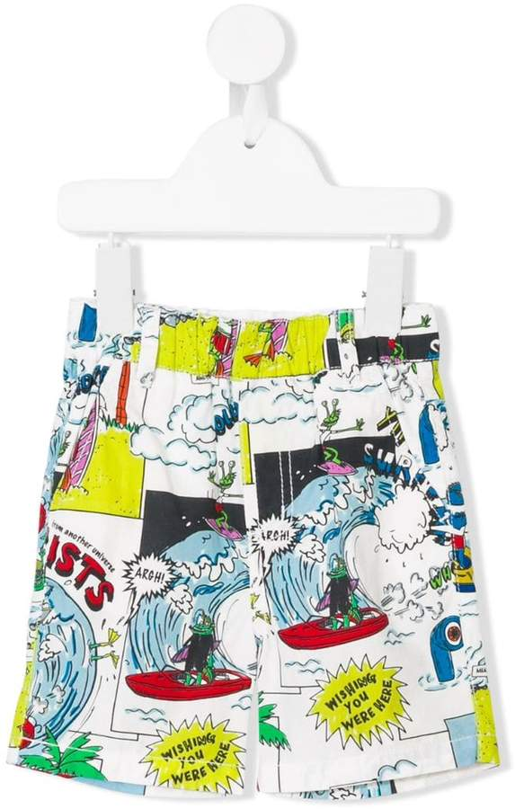 Loopie all-over shorts