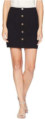 J.o.a. Button Down Pencil Skirt Women's Skirt