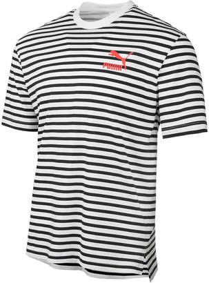 Puma Men's Summer Breton Striped T-Shirt