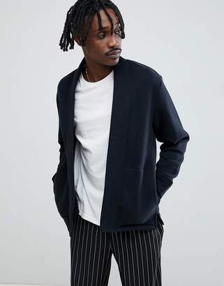Weekday Coin Cardigan In Black