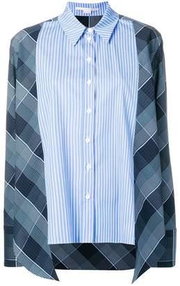 Stella McCartney striped checked shirt