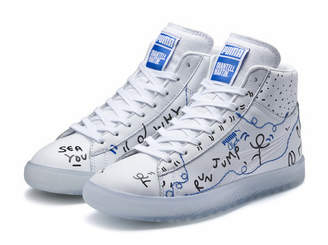 PUMA x SHANTELL MARTIN Clyde Mid Sneakers