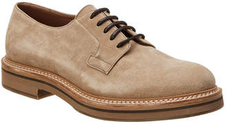 Brunello Cucinelli Suede Oxford