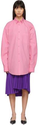 Balenciaga Pink Logo Shirt