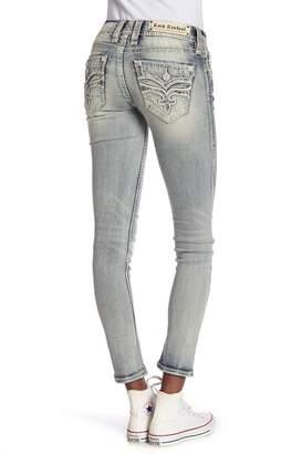 Rock Revival Dianeya Embroidered Skinny Jeans