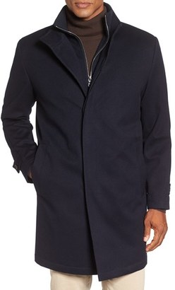 Men's Peter Millar 'Old Sebastian' Wool Overcoat $998 thestylecure.com