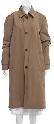 Prada Long Trench Coat