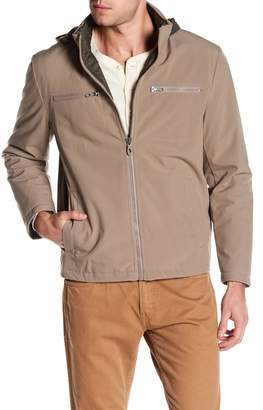 Kenneth Cole New York Soft Shell Hooded Jacket