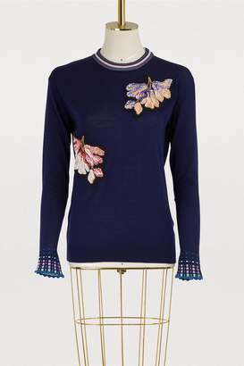 Peter Pilotto Embroidered sweater