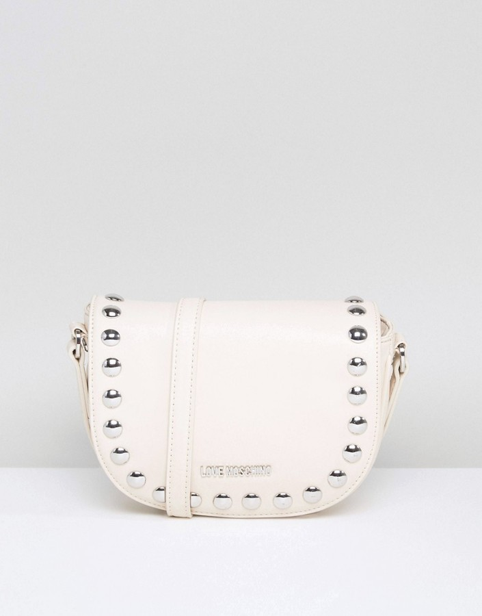 Love Moschino Love Moschino Stud Shoulder Bag