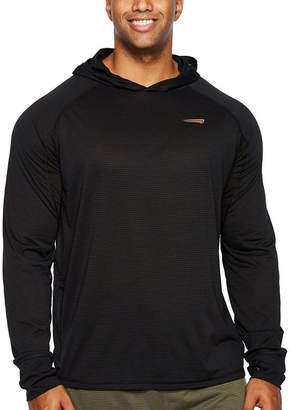 COPPER FIT Copper Fit Long Sleeve Jersey Logo Hoodie-Big and Tall