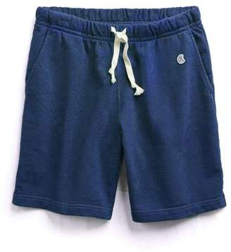Todd Snyder + Champion The Warm Up Short in Marine Blue
