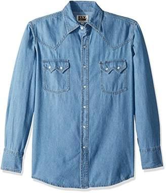 Ely & Walker Men's Long Sleeve Western Shirt