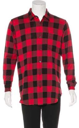 Mastermind Japan 2016 A-Girl's Buffalo Plaid Shirt