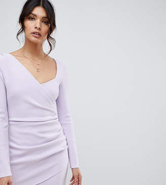 Bec & Bridge Exclusive Tasha asymmetric longsleeve dress