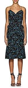 Altuzarra Women's Menara Floral Silk Knee Dress - Black