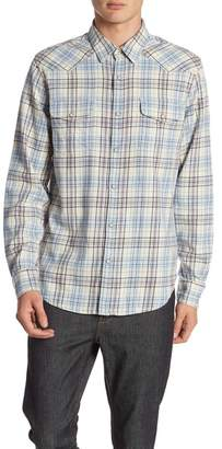 Lucky Brand Long Sleeve Snap Button Western Shirt