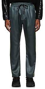 Cmmn Swdn Men's Buck Piping-Accented Track Pants-Gray