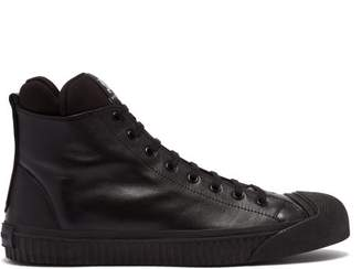 Burberry Kilbourne High Top Sneaker - Mens - Black