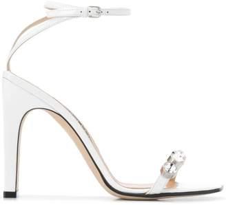 ef1e4ac2fe3c Sergio Rossi White Women s Sandals - ShopStyle