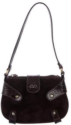 Valentino Mini Suede Shoulder Bag