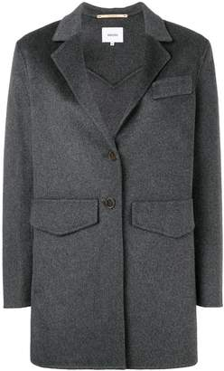 Nanushka short single-breasted coat