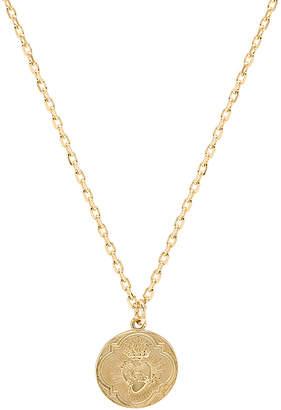 joolz by Martha Calvo Sacred Heart Shield Necklace