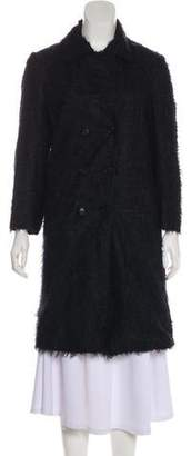 Helmut Lang Long Textured Coat