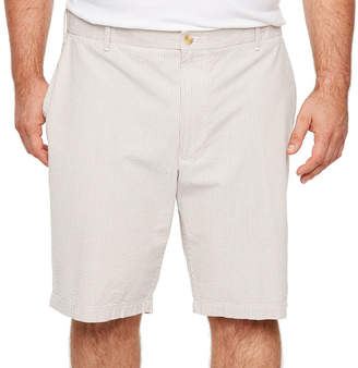 Izod Sandy Bay Seersucker Short Mens Chino Shorts-Big and Tall