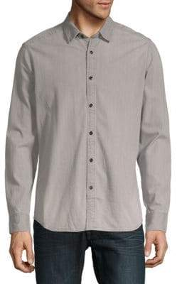 G Star Landoh Clean Cotton Button-Down Shirt