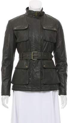Belstaff Coated Utility Jacket