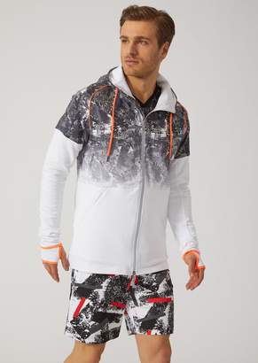 Emporio Armani Ea7 7.0 Training Sweatshirt With Hood