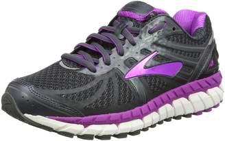 Brooks Women's Ariel '16 2E Running Shoe (BRK-120219 2E 40220D0 11 ANT/PUR/PRIMER)