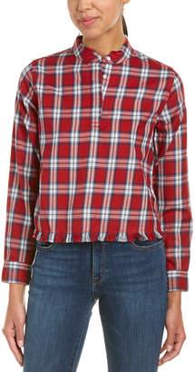 DL1961 Premium Denim The Blue Shirt Shop W 3Rd & Sullivan Crop Shirt