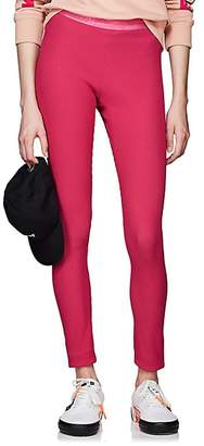 Off-White Women's Corrugated-Jersey Leggings - Pink